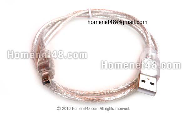 สาย USB 2.0 to Firewire 4Pins ยาว 1.5 เมตร