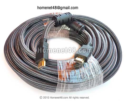 สาย HDMI ยาว 15 เมตร (M>M) (สายถัก)
