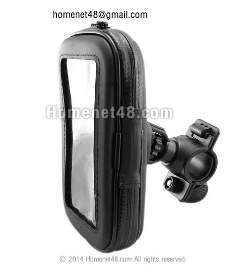 ที่หนีบโทรศัพท์มือถือ ล็อกติดจักรยาน (กันน้ำ) สำหรับ Iphone