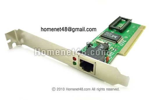 PCI Lan Card 10/100 32 Bit (ไม่ต้องใช้ไดร์เวอร์)