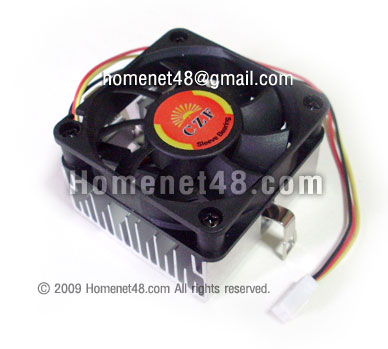 พัดลมซีพียู (Heatsink) สำหรับ Intel Socket 370