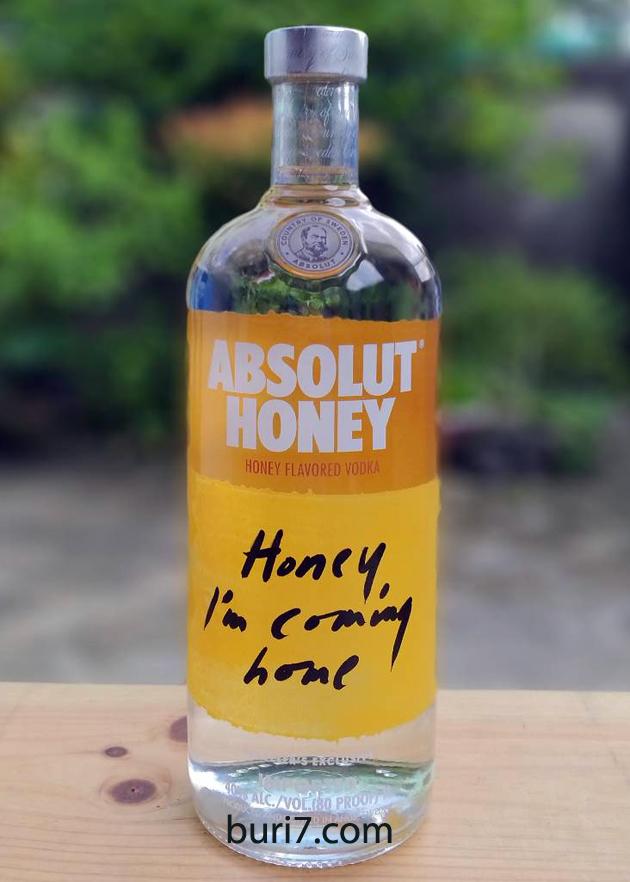 Absolut Honey (1L)