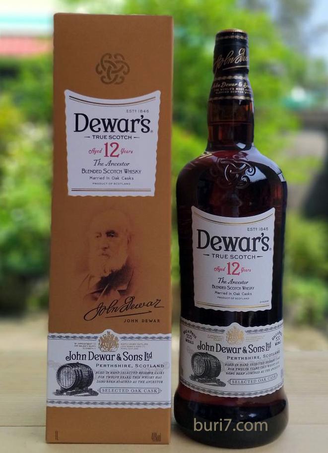 Dewar's 12 Year Old  (1L)