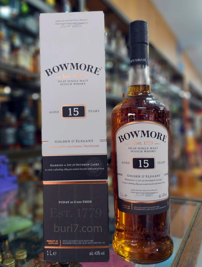 Bowmore 15 Year Old (1L)
