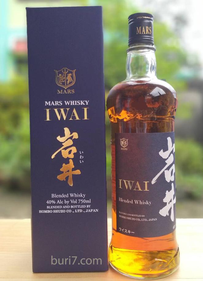 Mars Iwai Japanese Whisky