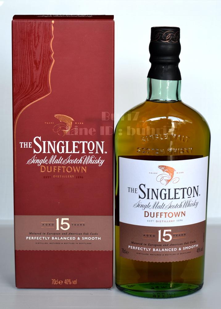 ลัง 12 ขวด Singleton Glendullan Dufftown 15 Years 70cl.