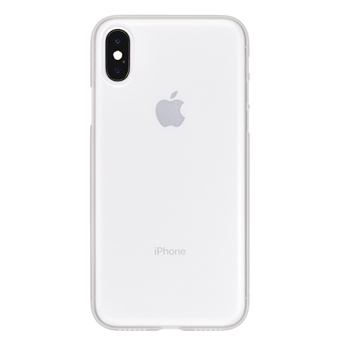the best attitude c9516 ce9cb Power Support Air Jacket For iPhone X (no film) - Clear Matte