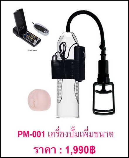 ปั๊มเพิ่มขนาด PM-001