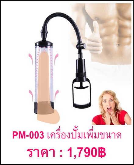 ปั๊มเพิ่มขนาด PM-003