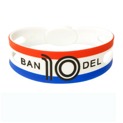 BANDEL bracelet ワールドフットボール フランス redxwhitexblue