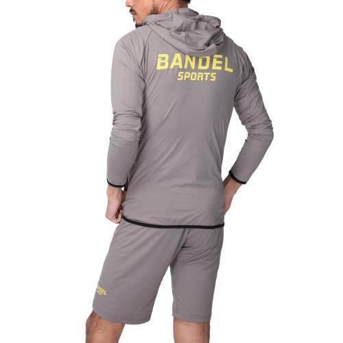 BANDELSPORTS stretch wear set up GreyxYellow