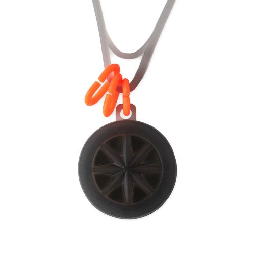collection line GHOST necklace 19-01 Black