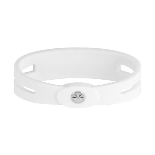 metal bracelet WhitexSilver