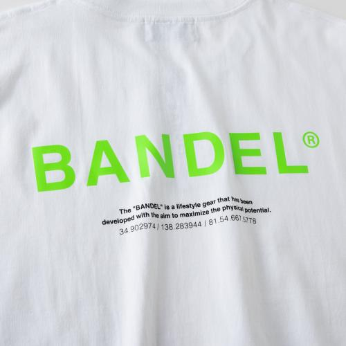 GHOST XL-LOGO T-shirts BAN-T011 whitexneongreen