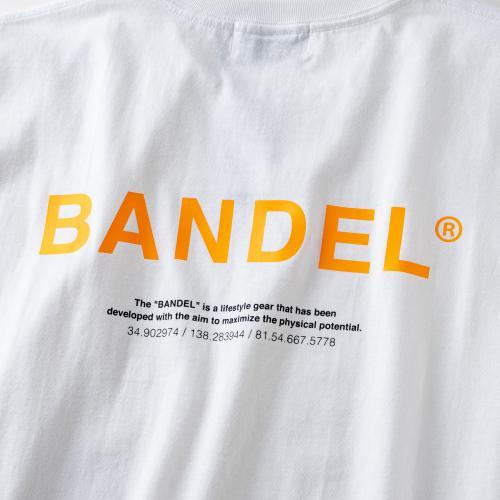 GHOST XL-LOGO T-shirts BAN-T011 whitexneonorange