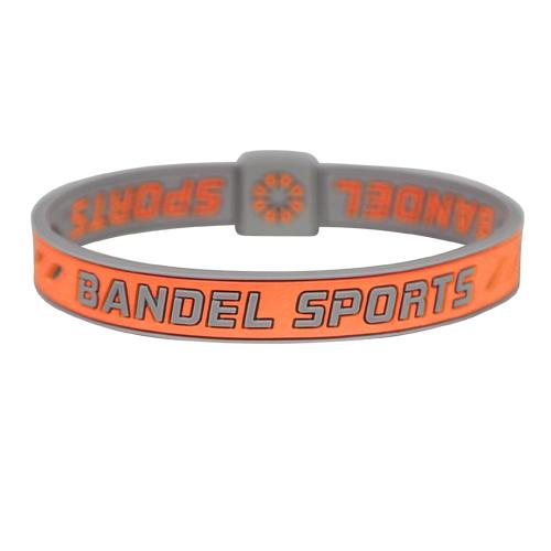 BANDEL SPORTS string bracelet OrangexGrey