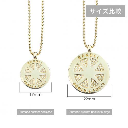 diamond custom necklace Gold
