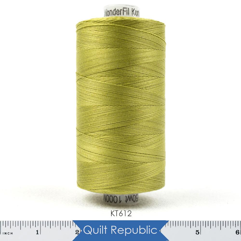 Wonderfil Threads Konfetti Olive Green