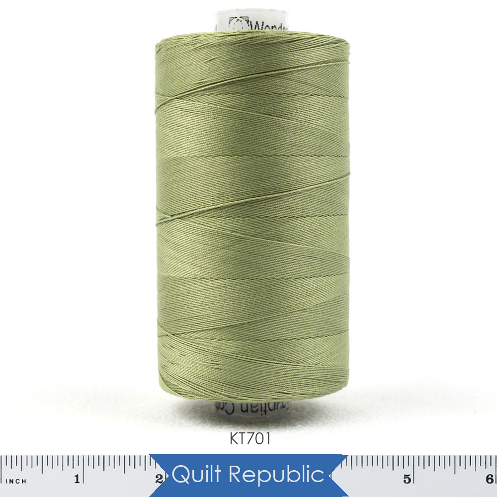 Wonderfil Threads Konfetti Sage Green