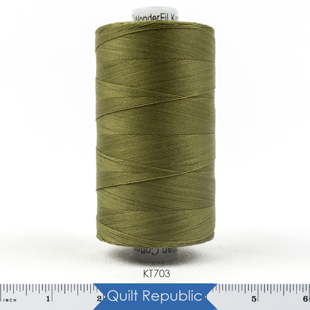 Wonderfil Threads Konfetti Avocado Green
