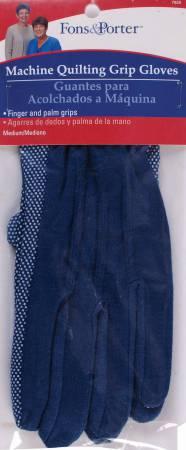 Fon&Porter Machine Quilting Grip Gloves Size M