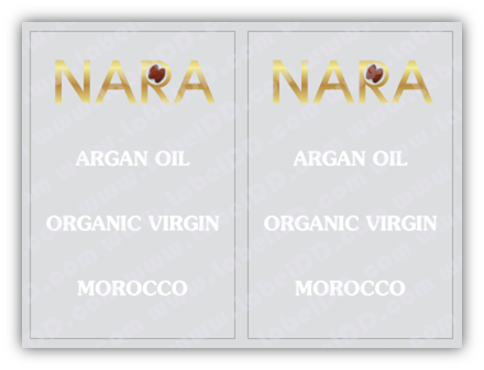 Argan Oil Sticker