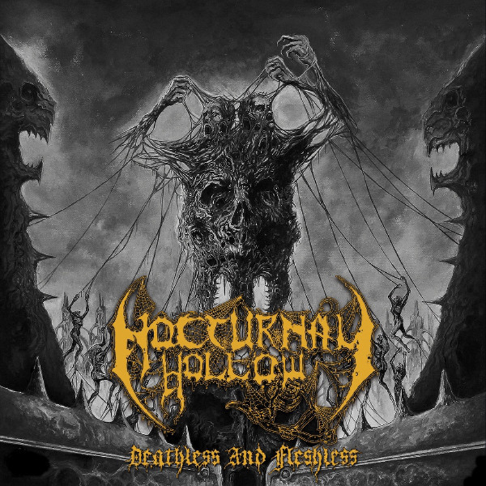 NOCTURNAL HOLLOW'Deathless And Fleshless + Demonical Euphony'CD.
