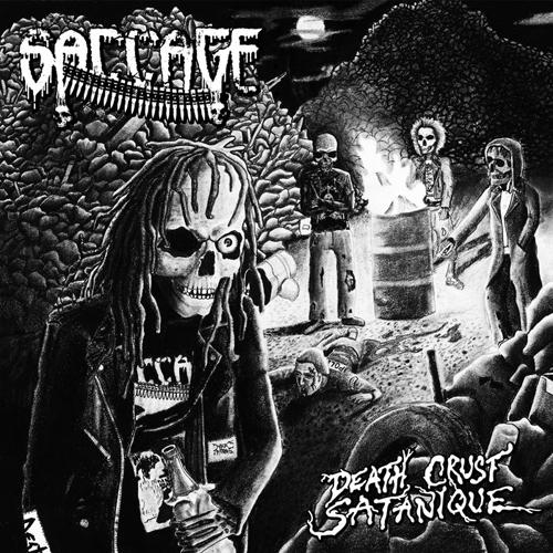 SACCAGE'Death Crust Satanique'CD.