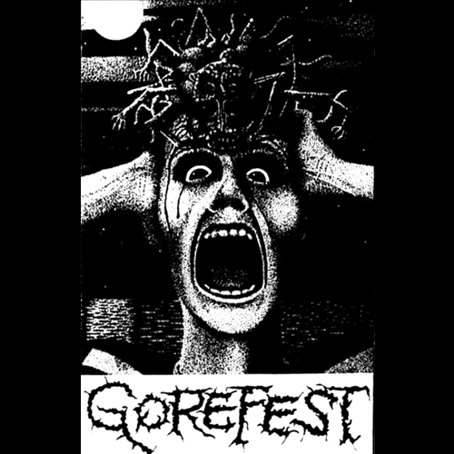 GOREFEST'Horror in a Retarded Mind' Tape.(Bootleg)