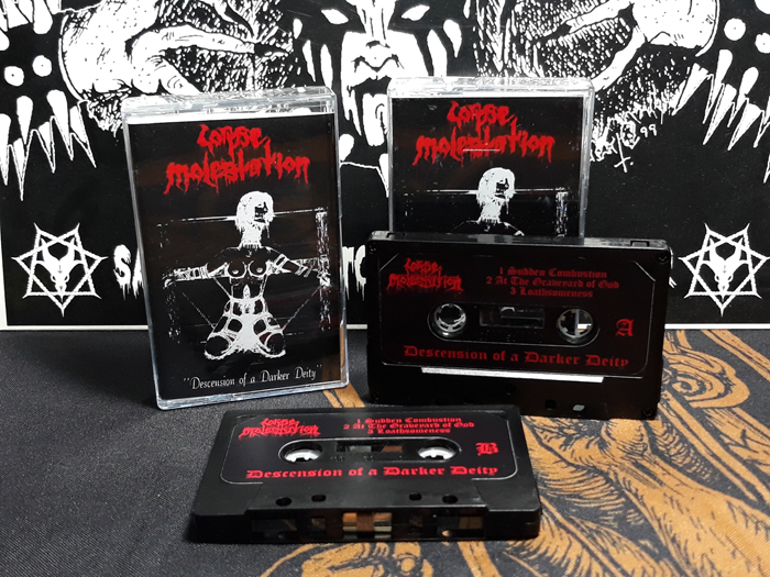 CORPSE MOLESTATION'Descension of a Darker Deity' Tape.(Bootleg)