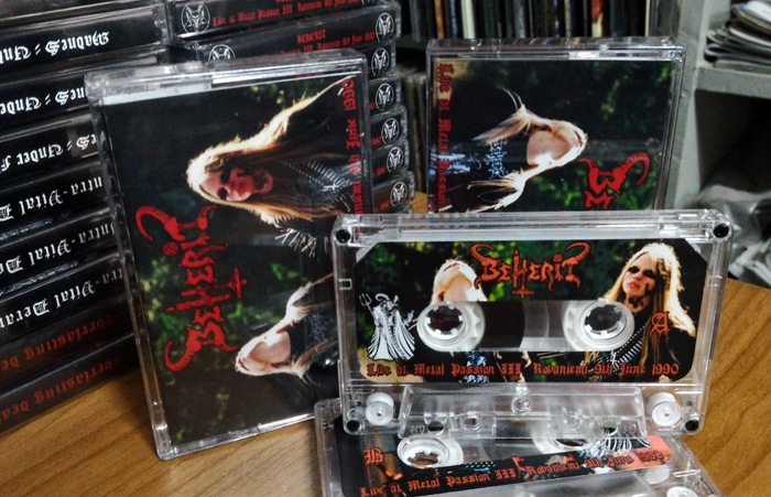BEHERIT'Live At Metal Passion III -1990' Tape.