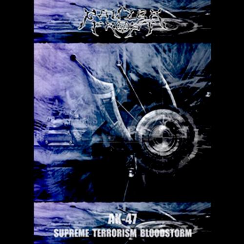 PANZER FROST'AK-47 Supreme Terrorism Bloodstorm' CD.