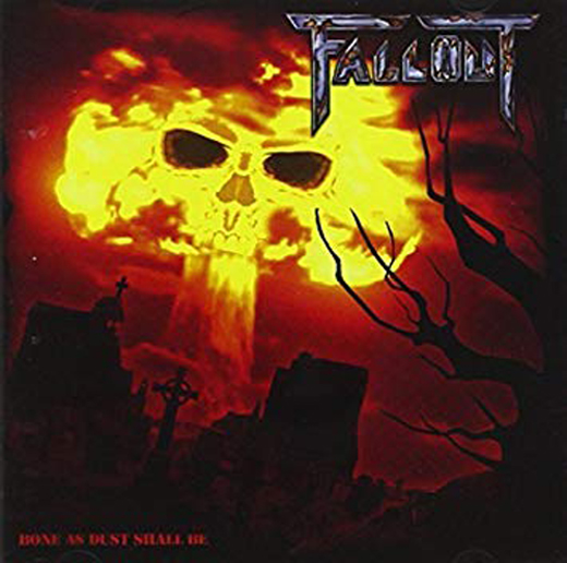 FALLOUT'Bone As Dust Shall Be' CD.