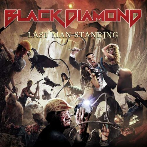 BLACK DIAMOND'Last Man Standing'CD.