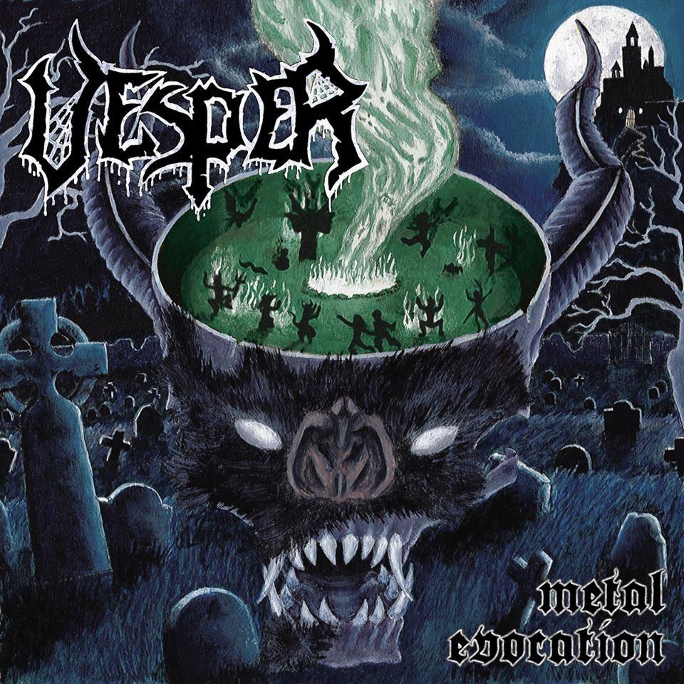 VESPER'Metal Evocation' CD.
