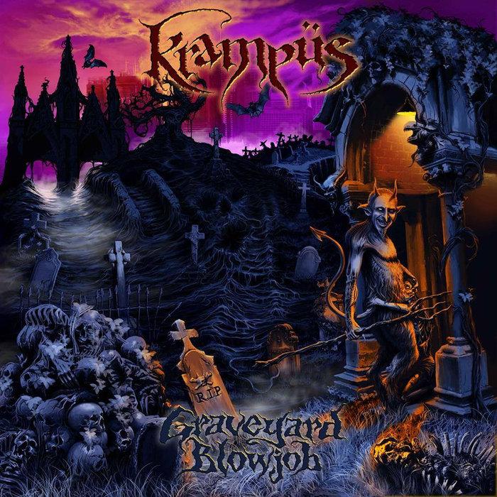 KRAMPUS'Graveyard Blowjob' CD.