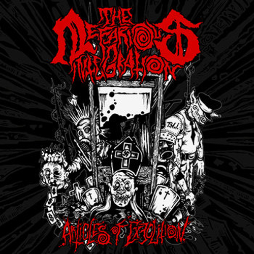 """THE NEFARIOUS INTEGRATION'Articles of Execution' 7"""" EP"""