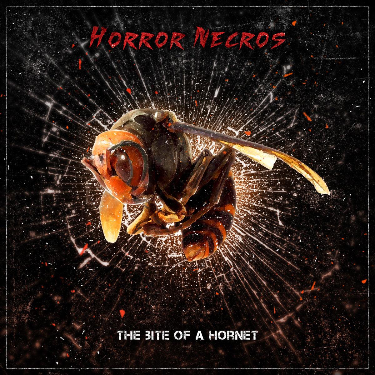 HORROR NECROS'The Bite of A Hornet' CD.