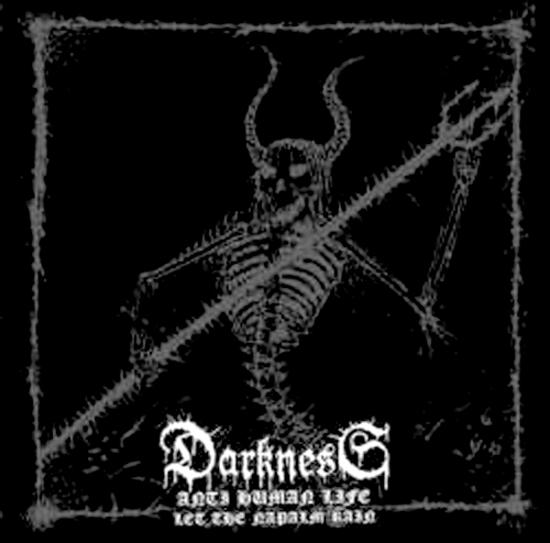 DARKNESS'Anti Human Life' CD.