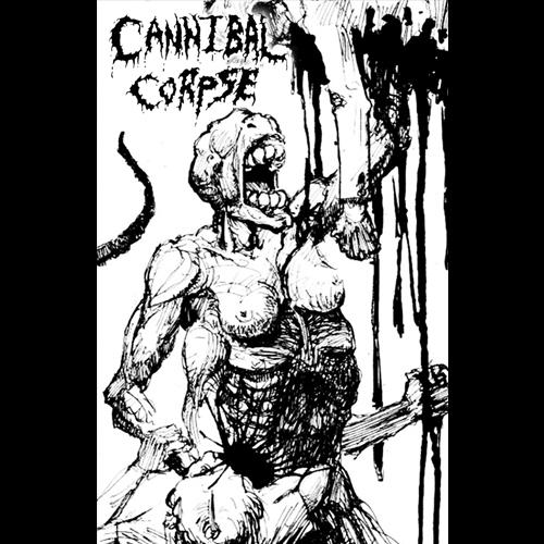 CANNIBAL CORPSE'Created To Kill Demo 1995' Tape.(Bootleg)