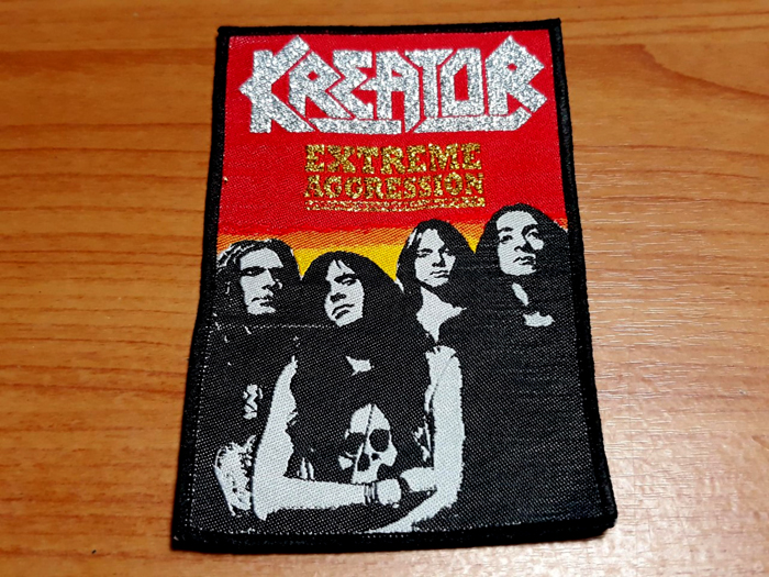 KREATOR'Extreme Aggression' Woven Patch.