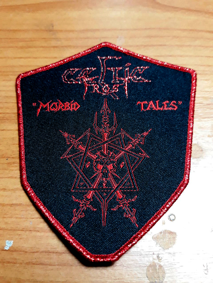 CELTIC FROST'Morbid ales' Woven Patch.
