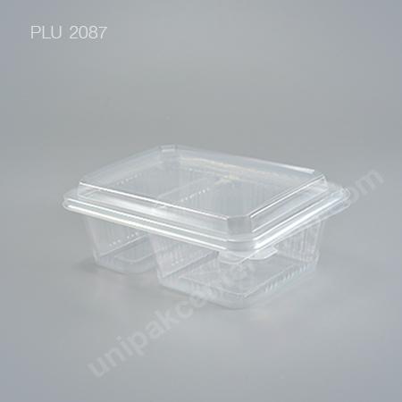 กล่องอาหาร 2 ช่อง PPN (750ml.) + ฝาในตัว E
