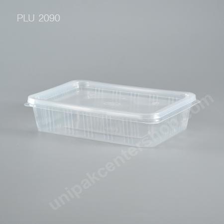 กล่องอาหาร 1 ช่อง pp (500ml)+ฝา