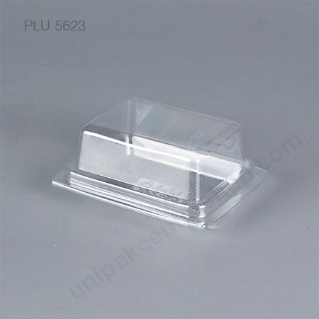 กล่องเบเกอรี่ใส PET  H-75 (CLEAR BAKERY CASE)