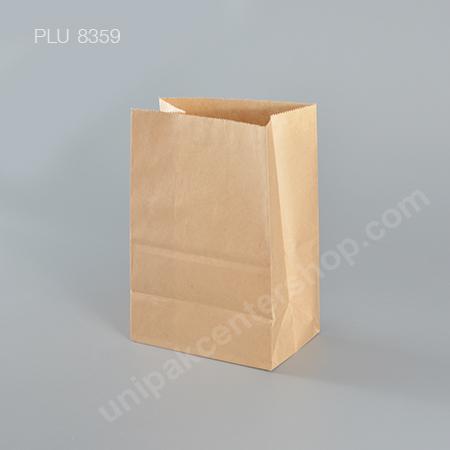 ถุงกระดาษพับข้างสีน้ำตาล 5x7 ก้น 3 in.