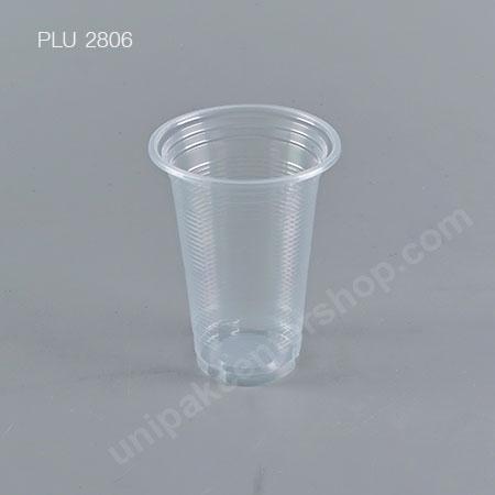 แก้ว น้ำดื่ม PP ลอน 12 oz. ปาก 85 mm. (E)
