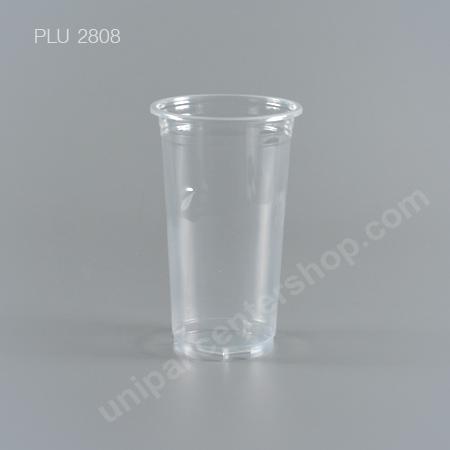 แก้ว น้ำดื่ม PP ใสเรียบ 20 oz. ปาก 90 mm. (E)