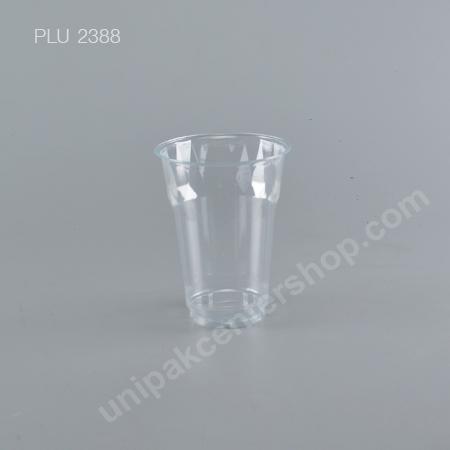 แก้ว ถ้วยน้ำดื่ม PET 16 oz. ไดมอนด์ ปาก 95mm (F95-490cc)