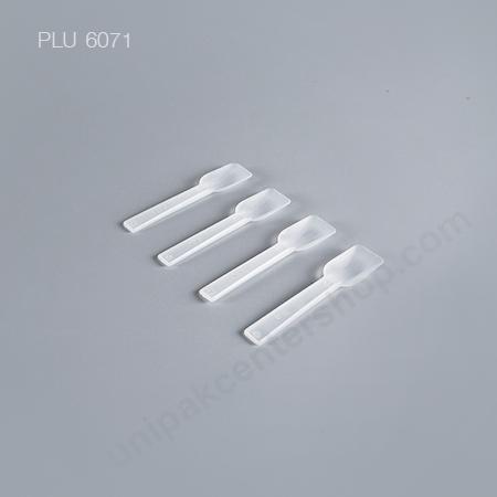 ช้อนไอติม / ช้อนไอศกรีม พาย พลาสติก PP107 (Plastic Ice Cream Spoons)